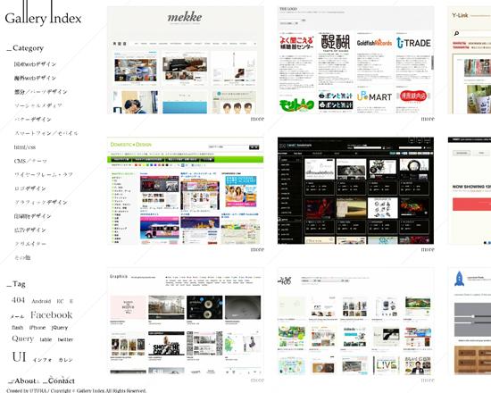 Gallery Index